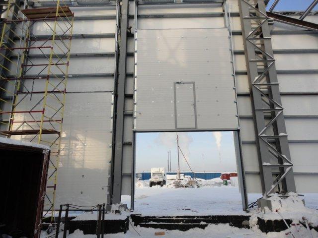 Промышленные подъемные ворота в Урае