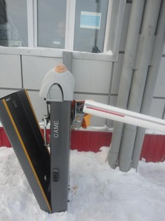 Автоматика на откатные ворота саме